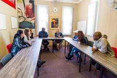 Boardroom discussion